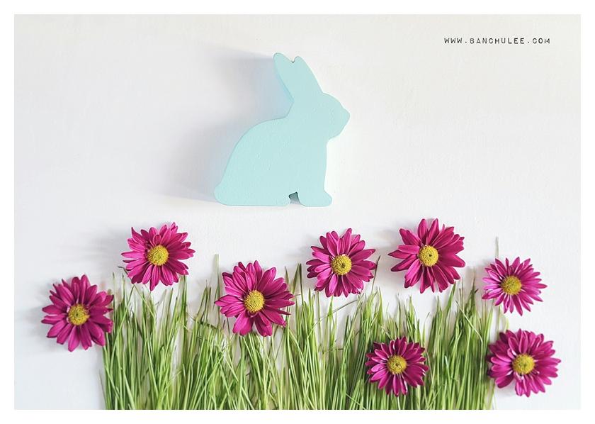 Wooden Bunny - Justina