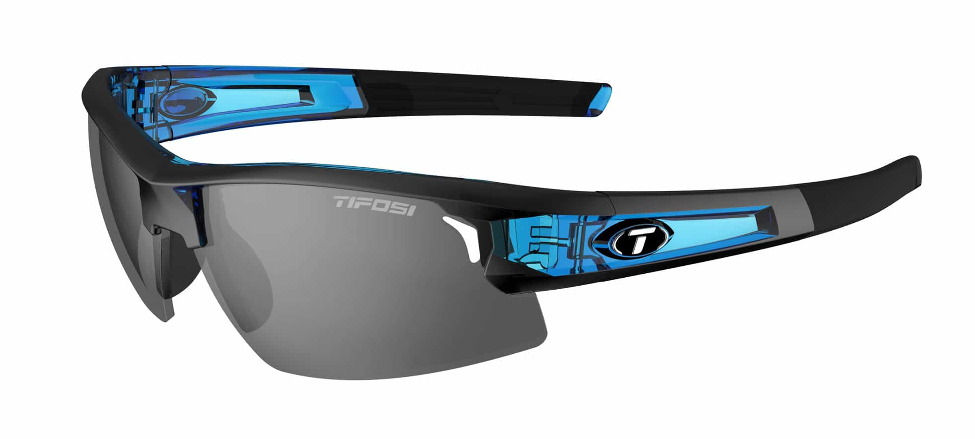 Tifosi SYNAPSE Crystal Blue (Smoke/AC Red/Clear)