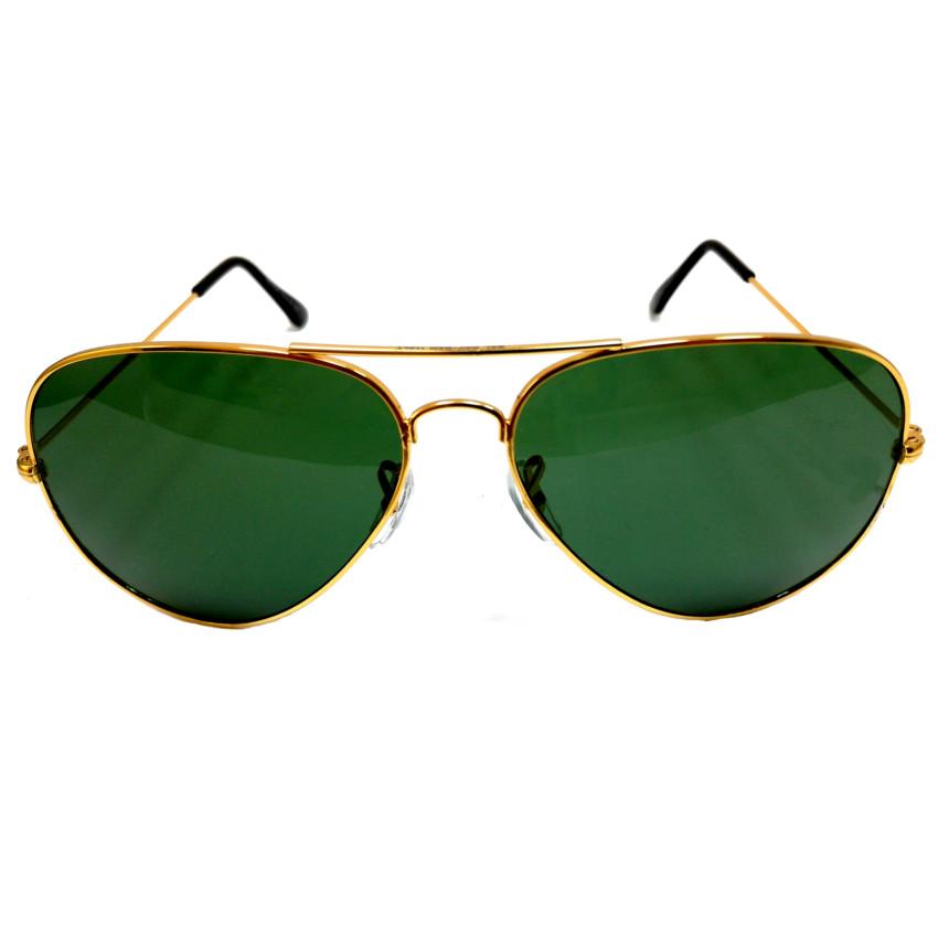 แว่นกันแดด หรู ทรงเรแบน กว้าง 13cm -เลนส์ 5.8cm