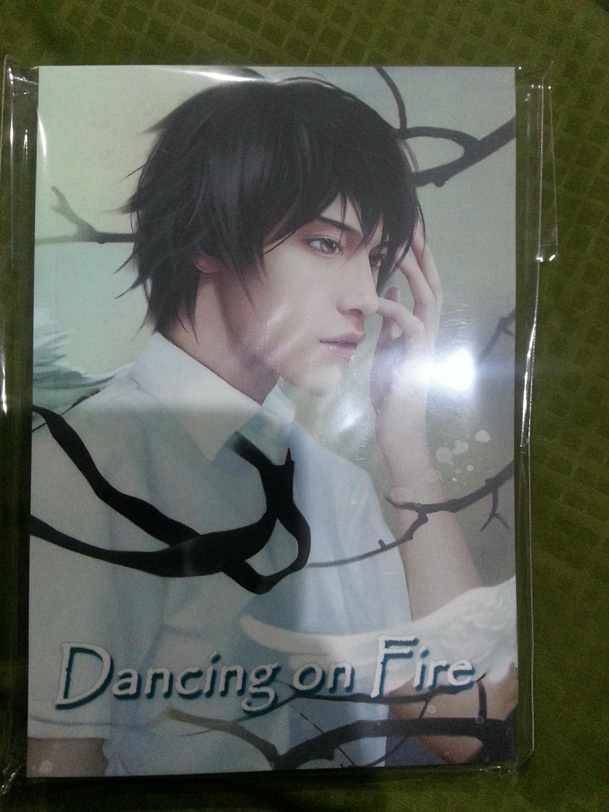 """""""Dancing on Fire"""" (เรื่องเดียวกับ Into the fire ของ FU) มัดจำ 300 ค่าเช่า 50 บาท"""