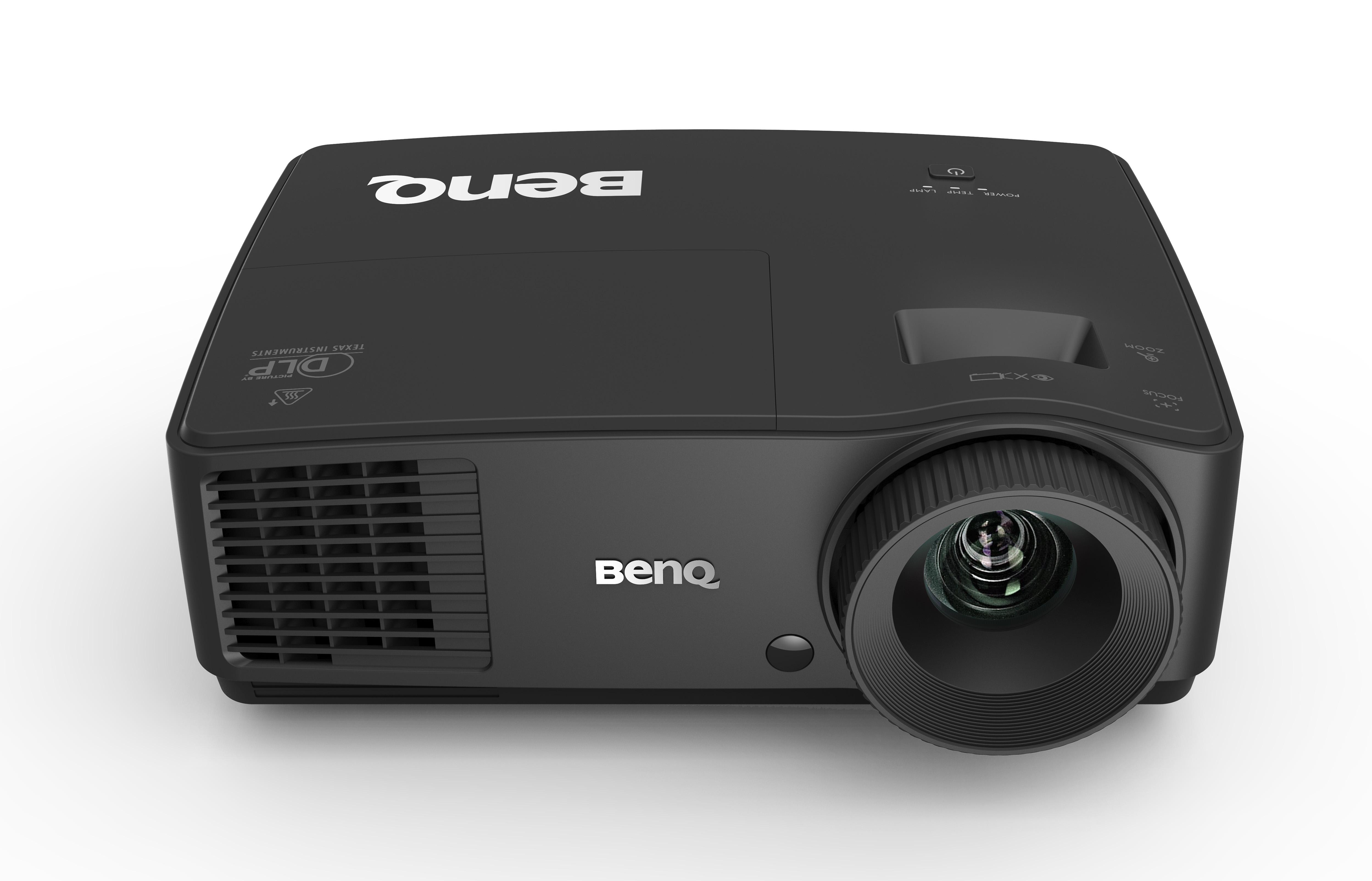BENQ EX501 ความสว่าง 3000 ความละเอียด(พิกเซล) 1024x768(XGA) ค่า Contrast เท่ากับ13,000:1 น้ำหนัก 1.94kg