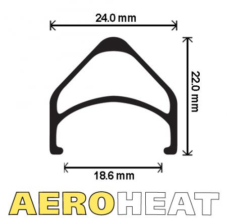 "Velocity AEROHEAT 20"" - 406 BSD"