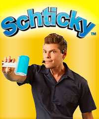 ลูกกลิ้งทำความสะอาดอเนกประสงค์ Schticky