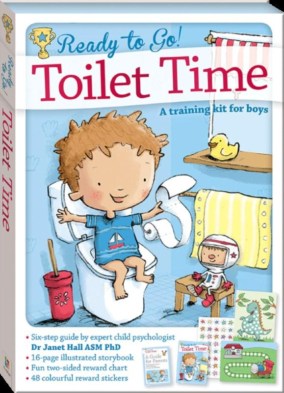 Ready To Go! Toilet Time For Boys (Dr. Janet Hall)