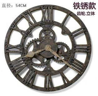 นาฬิกาแขวนผนังทรงเฟืองโบราณ