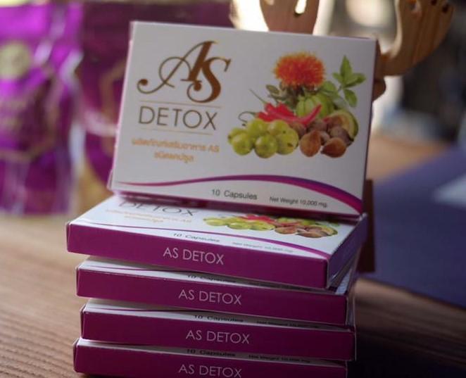 AS Detox Asia Slim ดีท็อก เอเชีย สลิม พุงยุบ เห็นผล ผิวใส เหมาะสำหรับผู้ที่ต้องการขับสารพิษออกจากร่างกาย ช่วยดูด ซับ สารพิษที่ร่างกายไม่ต้องการออกไป เพื่อให้ร่างกายได้ทำงานอย่างเต็มที่