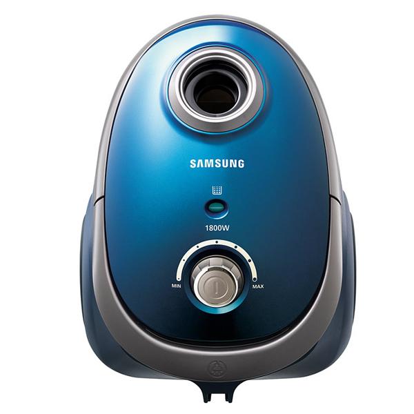 Samsung เครื่องดูดฝุ่น 1800วัตต์ ใช้ถุง ความจุ 2.4 ลิตร รุ่น VCC5450V3B/XST