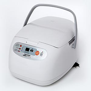 Sharp หม้อหุงข้าว ดิจิตอล 1.8ลิตร รุ่น KS-ZT18 สีขาว