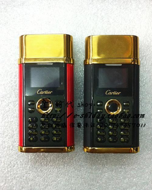 โทรศัพท์มือถือไฟแช๊คcartier