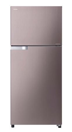 Toshiba ตู้เย็น 2ประตู 12.8Q รุ่น GR-T41KBZ สีชมพูเงิน