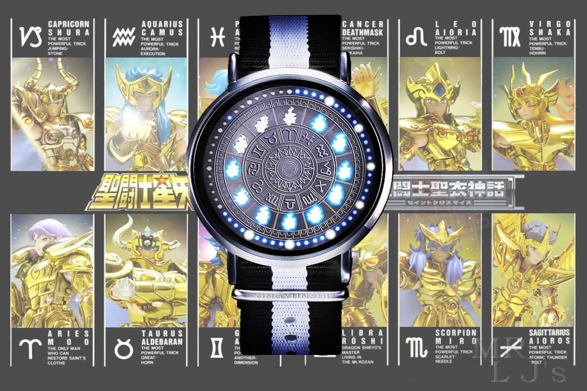 นาฬิกาข้อมือเซนต์เซย์ย่า