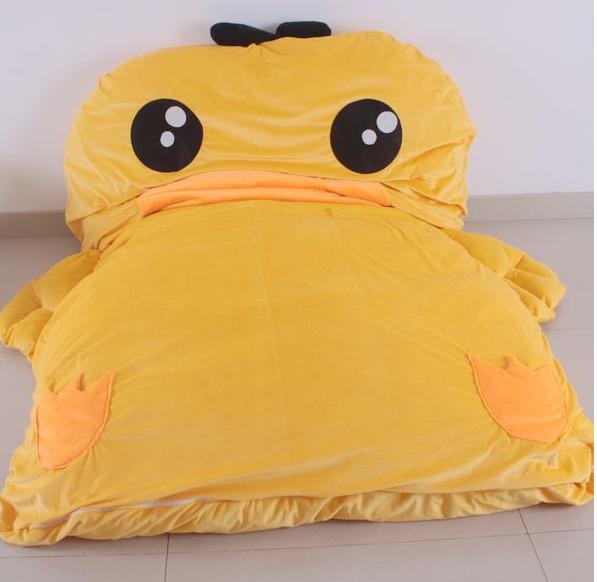 ที่นอนเป็ดสีเหลือง
