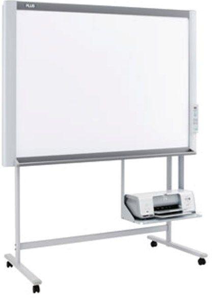 Plus M18W Electronic whiteboard plus ขนาดของจอบอร์ดมี 2 ผิวหน้า กดปุ่มเลื่อนไปแบบต่อเนื่อง (Endless Sheet 2 หน้า)