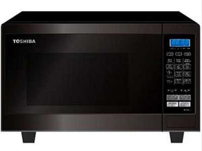 TOSHIBA ไมโครเวฟระบบสัมผัส 23 ลิตร ไฟ 800 วัตต์ ปรับความร้อน 5 ระดับ รุ่น ER-H23SC สีดำ