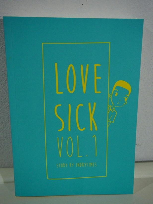 LOVE SICK : ชุลมุนหนุ่มกางเกงน้ำเงิน เล่ม 1 มัดจำ 500บ. ค่าเช่า 100บ.
