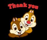 Chip 'n' Dale Animated Stickers[เคลื่อนไหวได้]