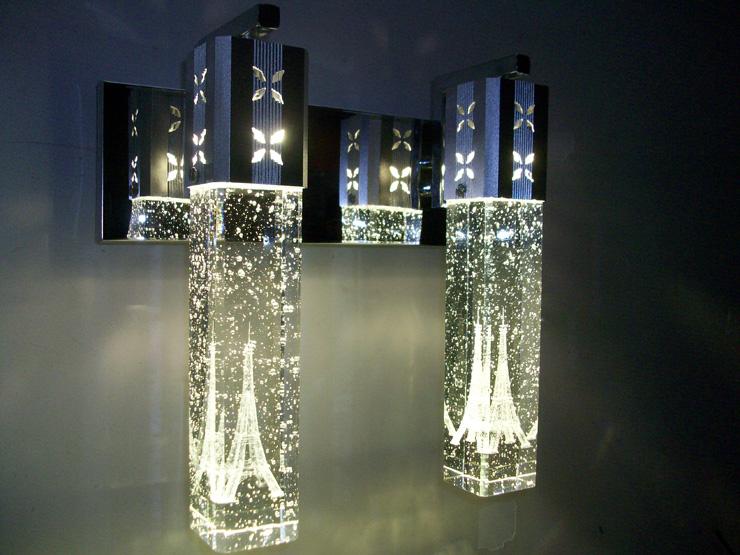 โคมไฟคริสตัล LED