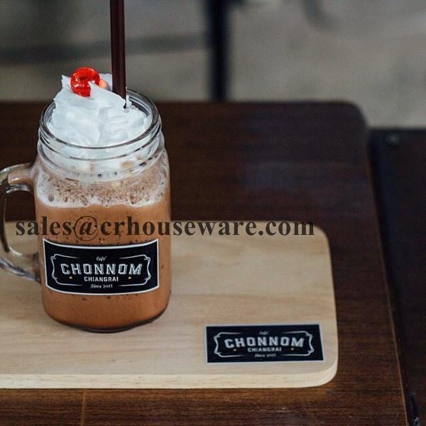 แก้วกาแฟเย็นทรงขวดโหล 040-DJ16 Cold Coffee cup shape kwdohl.