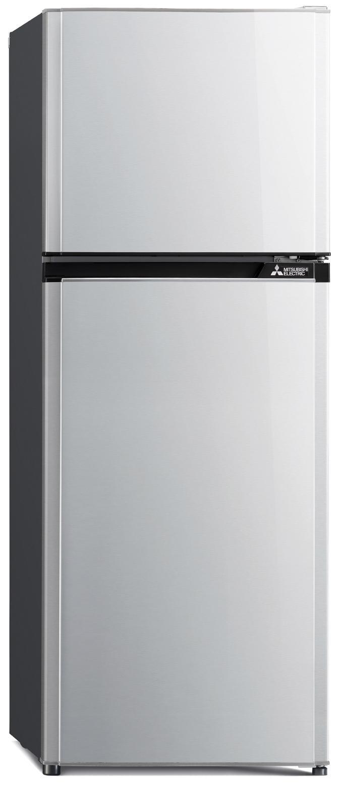 Mitsubishi ตู้เย็น 2 ประตู 7.2Q Flat Design รุ่น MR-FV22J-SL สีเงิน