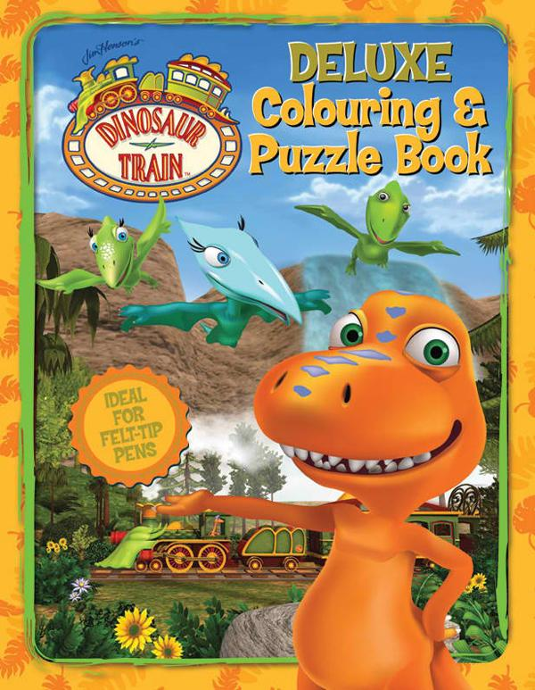 Dinosaur Train Deluxe Colouring & Puzzle Book (Grosset & Dunlap)