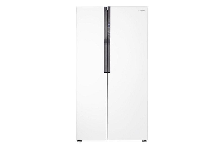 Samsung ตู้เย็น Side by Side Superstar SBS ความจุ 583.1 ลิตร/20.6 คิว รุ่น RS552NRUAWW/ST