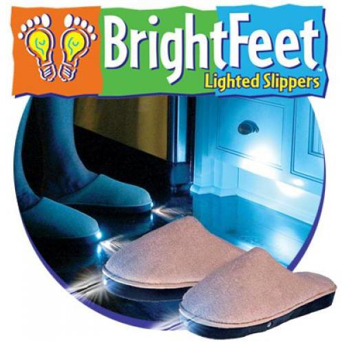 รองเท้าไฟฉายเซ็นเซอร์ Brightfeet
