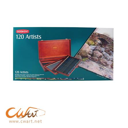 สีไม้Derwent รุ่นArtist x120สี(กล่องไม้)