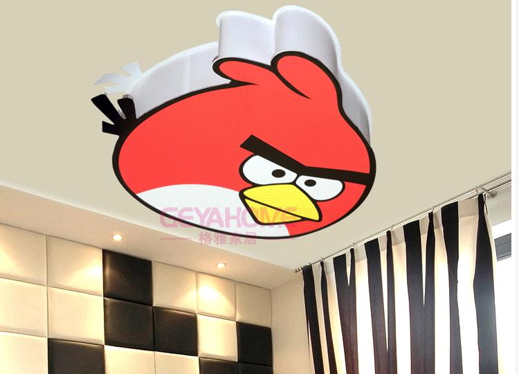 โคมไฟติดเพดานแองกี้เบิรด์ angry bird
