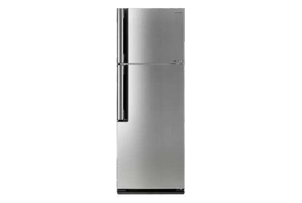Sharp ตู้เย็น 2 ประตูความจุ 13.3 คิว J-TECH INVETER รุ่น SJ-X43T-SL สีเงิน