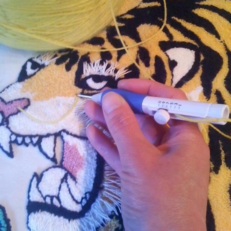 เข็มปักครอสติส Punch Needle Pen