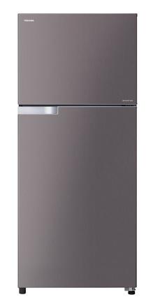 Toshiba ตู้เย็น 2ประตู 14.6Q รุ่น GR-T46KBZ สีเทาดำ