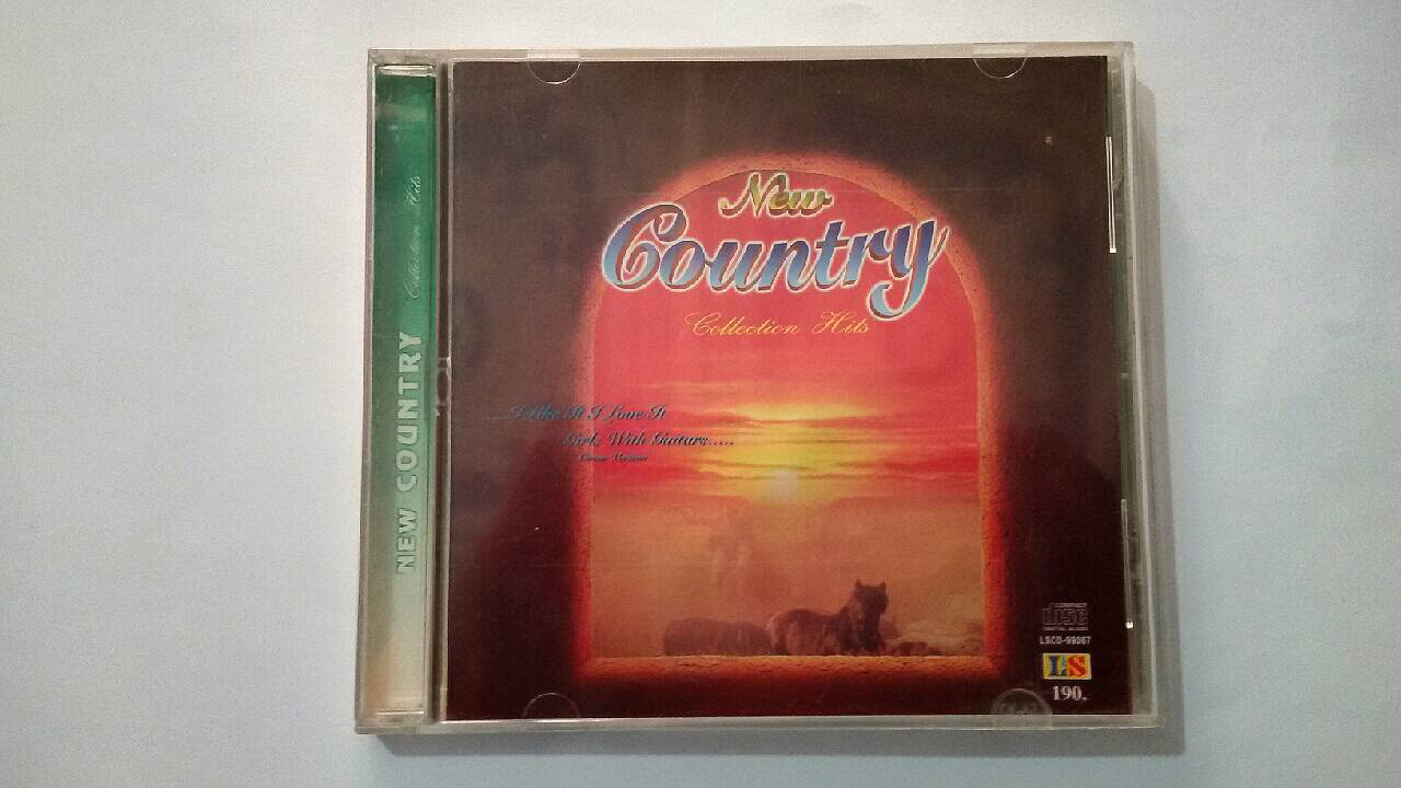 (P1USD+SHIP4USD) CD Audio อัลบั้ม New Country Collection Hits