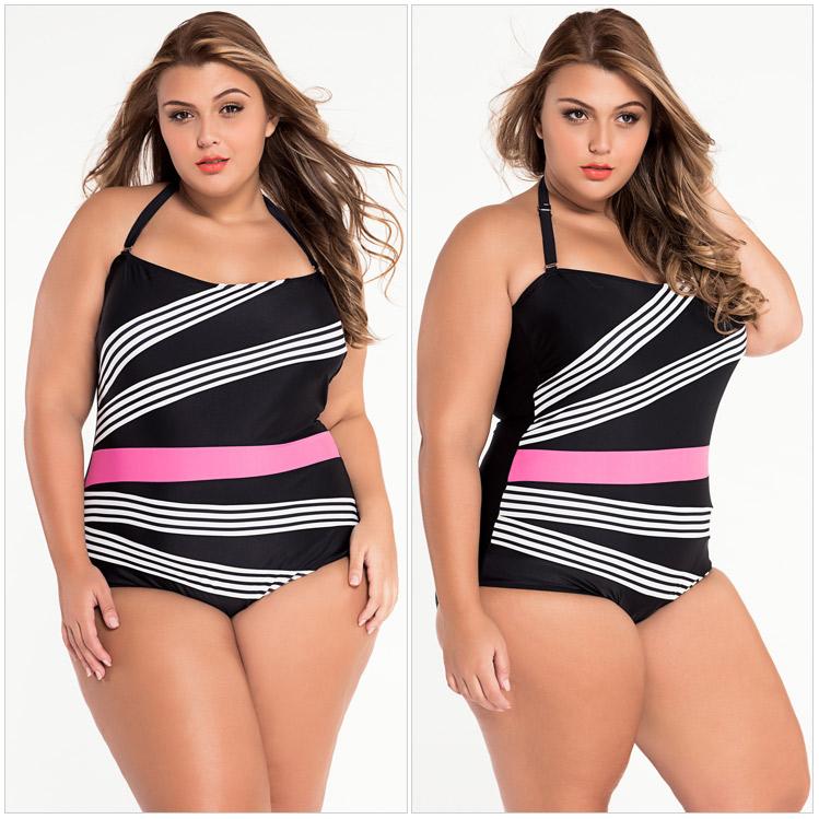 ชุดว่ายน้ำคนอ้วน วันพีช สีดำ แต่งลาย ทำให้ดูมีเอว รอบอก 38-44 รอบเอว 34-38 สะโพก 42-48 นิ้วค่ะ ผ้าดี งานสวยมากค่ะ