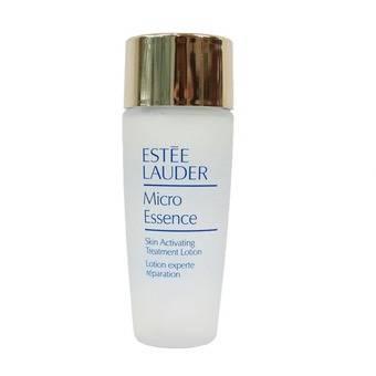 Estee Lauder Micro Essence Skin Activating Treatment Lotion ขนาดทดลอง 30ml. เอสเซนส์ในรูปของเนื้อโลชั่น ช่วยเสริมพื้นฐานให้ผิวดูมีสุขภาพดี ปลุกให้ผิวดูเปล่งประกาย แลดูอ่อนเยาว์ เผยความกระจ่างใสที่คุณต้องการ