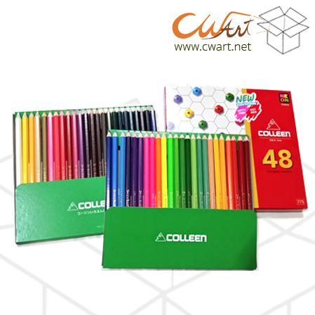 สีไม้Colleen 48สี/48แท่ง ยกกล่อง 6ชุด