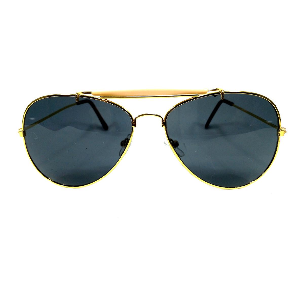 แว่นกันแดด แฟชั่น GOLD&GRAY