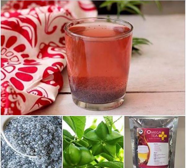 ชาดาวอินคา Omega Tea สูตร 2 พลัส เน้นลดพุง ลดหน้าท้อง
