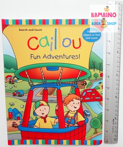 Caillou: Fun Adventures!: Search and Count Book