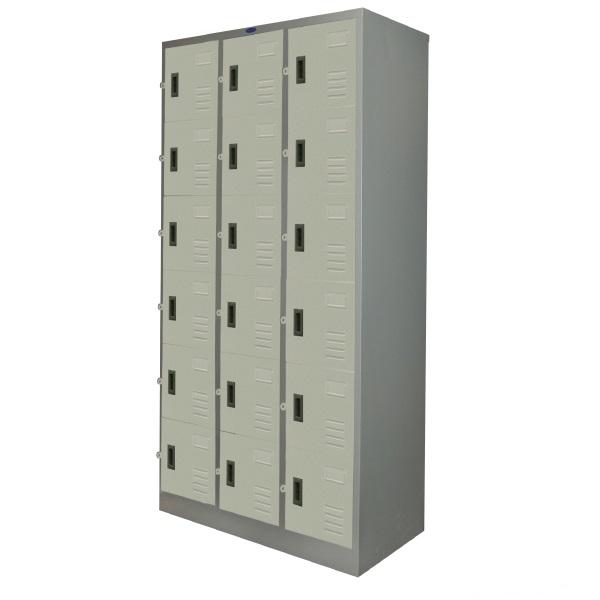 017-PK018 : ตู้ล๊อกเกอร์ 18 ประตู