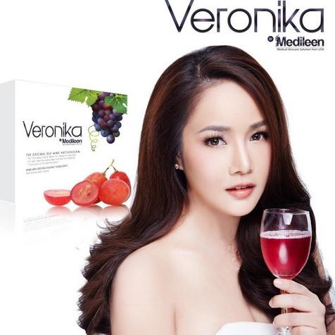 Veronika By Medileen เวโรนิก้า บาย เมดีลีน (30ซอง) ใครที่ไม่อยากแก่ อยากผิวเด้งขาวใสมีออร่า ดูสุขภาพดี ดื่มเวโรนิก้าจากไร่ออร์แกร์นิค เมื่อทานเป็นประจำจะช่วยต่อต้านความชราได้ถึง 70%
