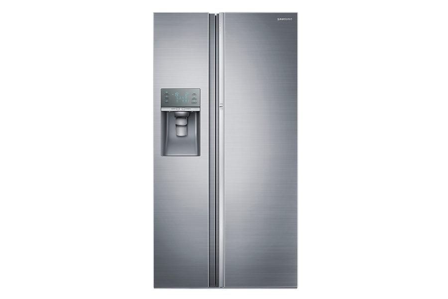 Samsung ตู้เย็น Side by Side Food Showcase ขนาด 21 คิว รุ่น RH57J80407F/ST