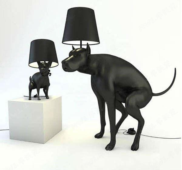 โคมไฟสุนัข