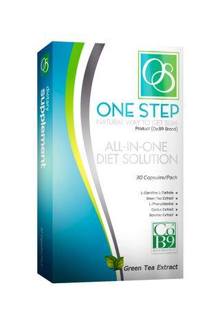 Co B9 One Step 30 แคปซูล (กล่องฟ้า) มาแล้วจ้า สำหรับคนที่ลดน้ำหนักยาก ดื้อยา ใช้มาหลายวิธีก็ไม่ลด แนะนำตัวนี้เลยคะ ผลิตภัณฑ์เสริมอาหารลดน้ำหนักสูตรใหม่ สูตรนี้จะแตกต่างกันทางด้านส่วนผสมบางตัว สามารถยับยั้งแป้งได้มากกว่าสูตรเดิม เพิ่มการดีท๊อกซ์ แต่ไม่เน้น