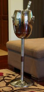 ถังแช่ไวน์สเตนเลส 2 ชั้น พร้อมขาตั้งเดี่ยว 013-WBL-1