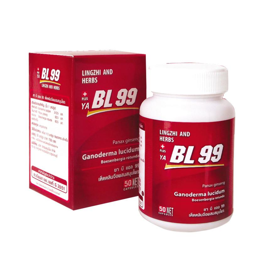 BL99 บีแอล99 ผลิตภัณฑ์เสริมอาหาร ด้วยส่วนผสมของ สารสกัดเห็ดหลินจือ สารสกัดโสมเกาหลี สารสกัดกระชาย สารสกัดหญ้าแห้วหมู สี่สมุนไพรอายุวัฒนะต้านอนุมูล และบำรุงร่างกายชั้นยอด อุดมด้วยสารบำรุงและต้านการเกิดโรค BL99 เห็ดหลินจือแดงสกัด เพื่อสุขภาพที่ดีของคุณและคน