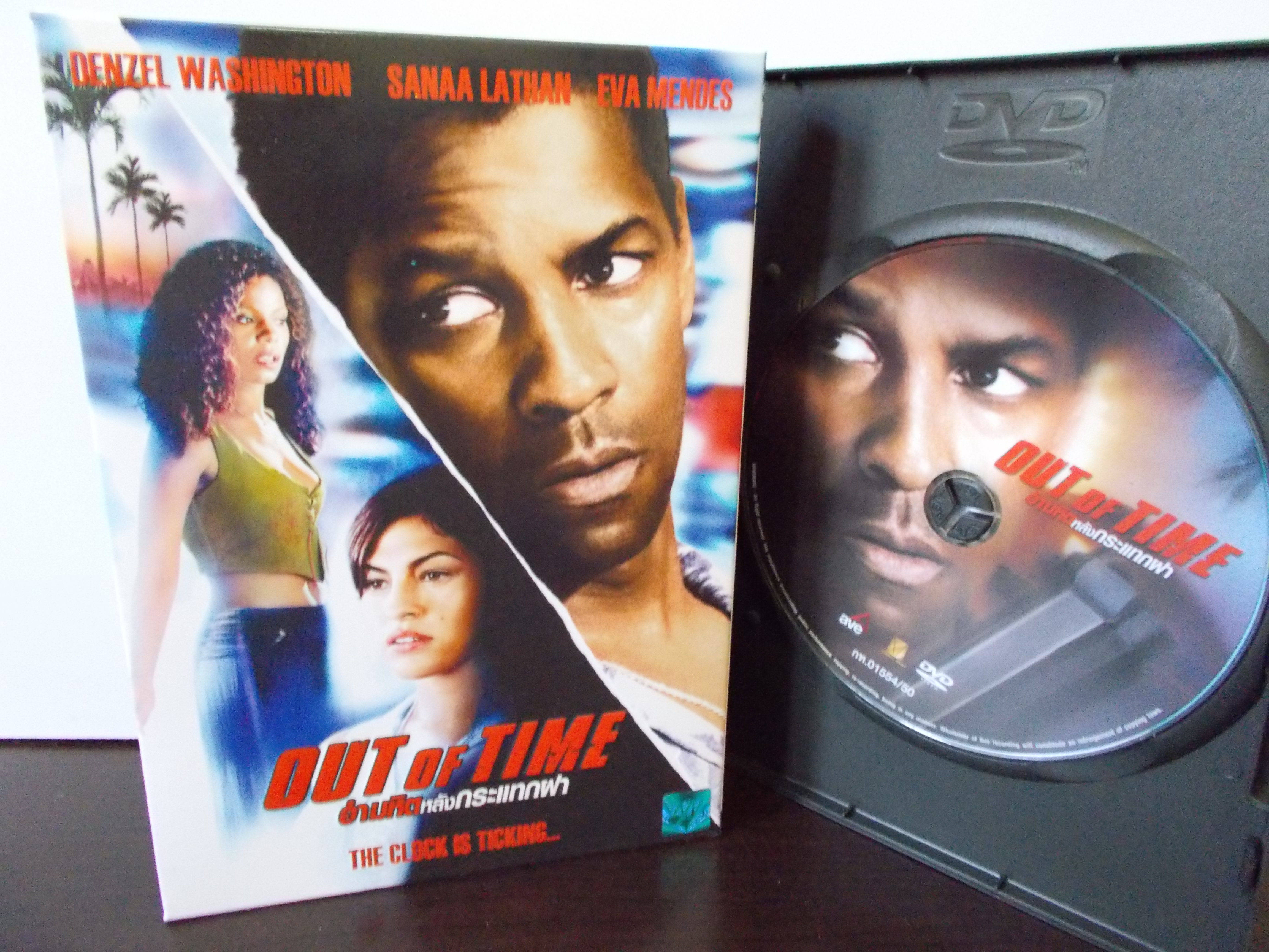 DVD OUT OF TIME อำมหิตหลังกระแทกฝา DENZEL WASHINGTON