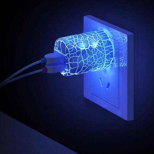 ปลั๊กไฟ USB เรืองแสง