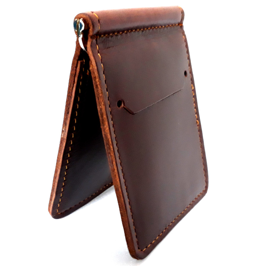 Money Clip กระเป๋าสตางค์ ผู้ชายพกพาสะดวก