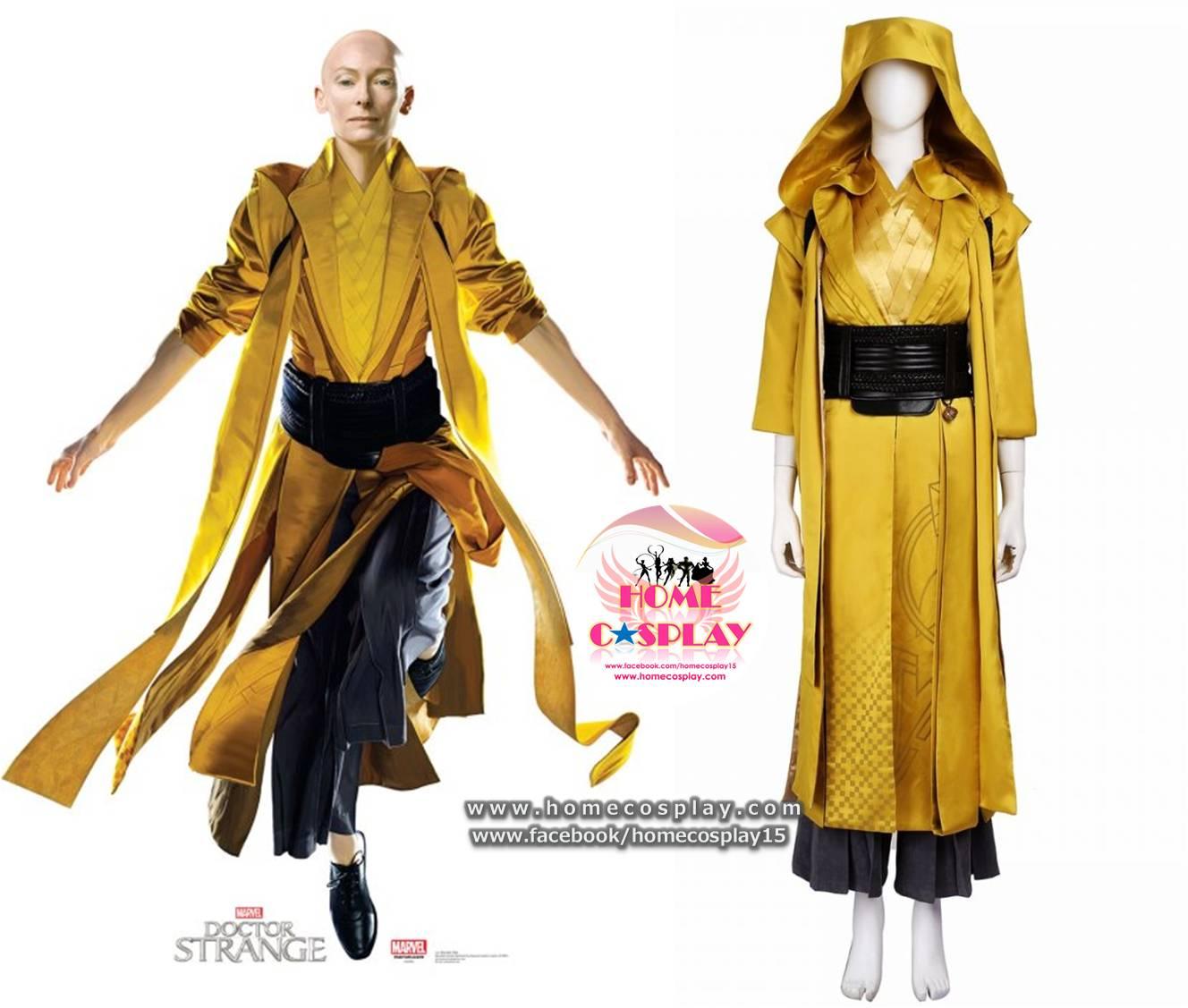 Super Premium Set: ชุดพรีเมียม แอนเชียน วัน Ancient One จอมเวทย์หญิง - Doctor Strange