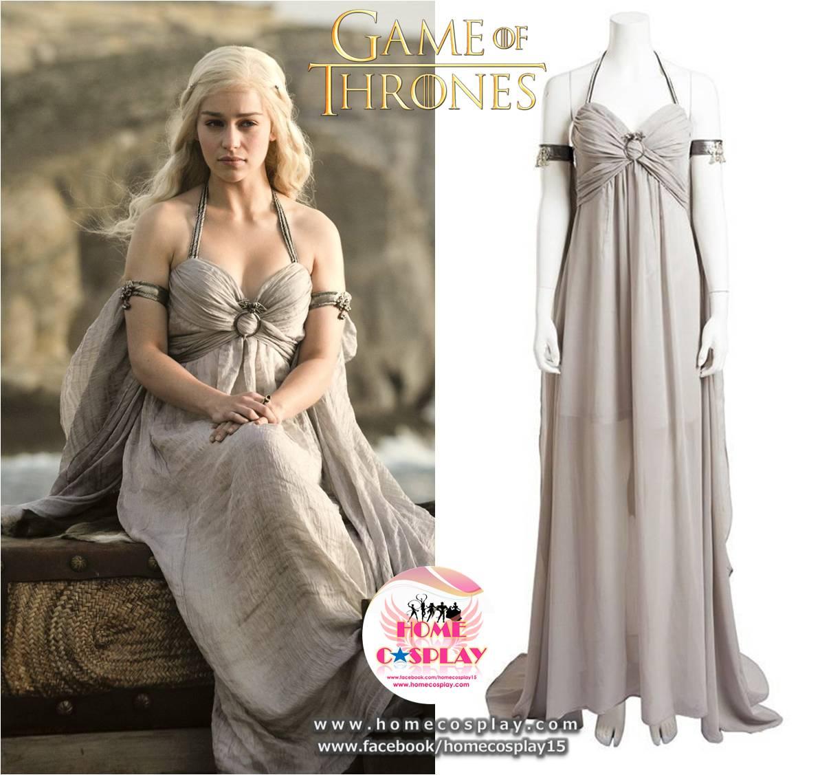 Super Premium Set: #2 ชุดแดเนริส ทาร์แกเรียน Daenerys Targaryen - Game of Thrones